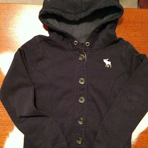 Abercrombie & Fitch Tops - Abercrombie button up hoodie. Size M